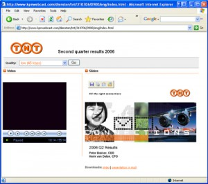 videowebcast