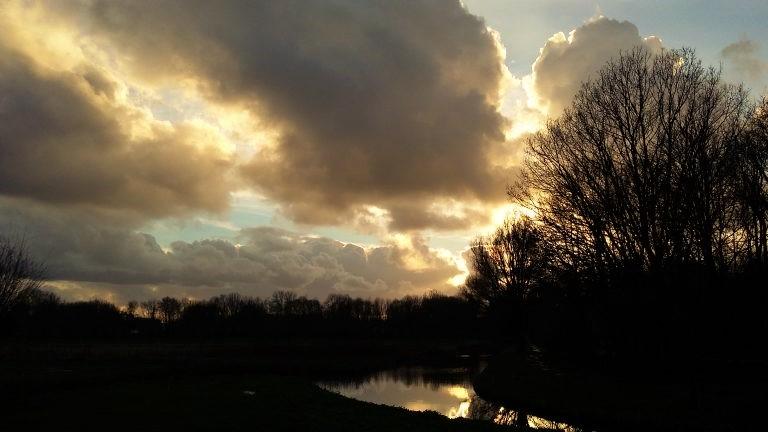 Sunset Delft